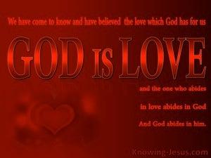 1 John 4:16
