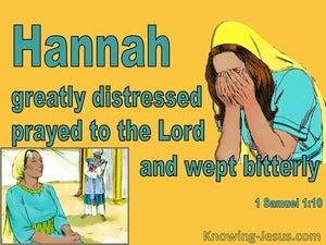 1 Samuel 1:10