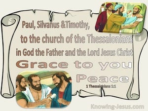 1 Thessalonians 1:1