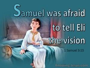 1 Samuel 3:15