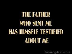 John 5:37