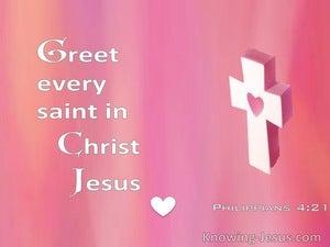 Philippians 4:21