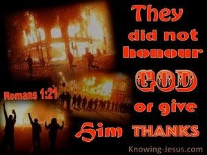 Romans 1:21