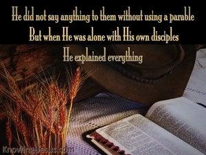 Mark 4:34