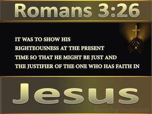 Romans 3:26