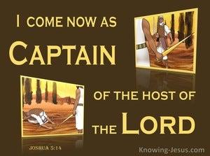Joshua 5:14