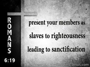 Romans 6:19
