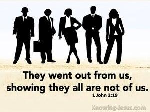1 John 2:19