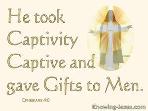 Ephesians 4:8