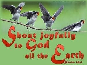 Psalm 66:1