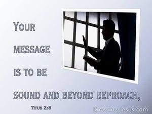 Titus 2:8