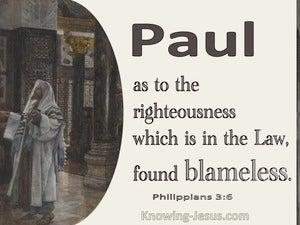 Philippians 3:6