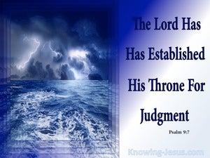 Psalm 9:7