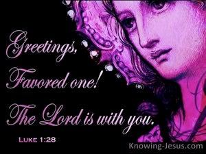 Luke 1:28
