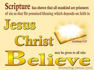 Galatians 3:22