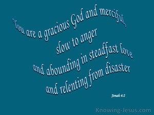 Jonah 4:2