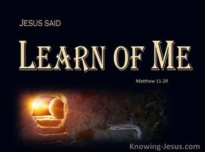 Matthew 11:29