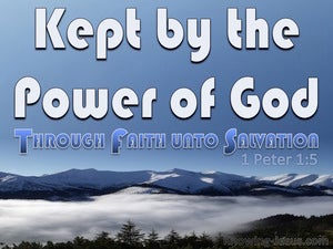 1 Peter 1:5