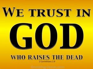 2 Corinthians 1:9