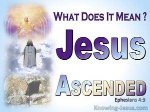 Ephesians 4:9