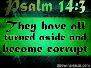 Psalm 14:3