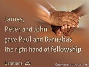 Galatians 2:9