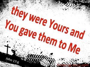 John 17:6
