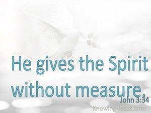 John 3:34
