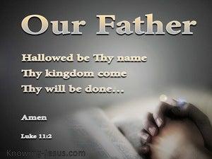 Luke 11:2