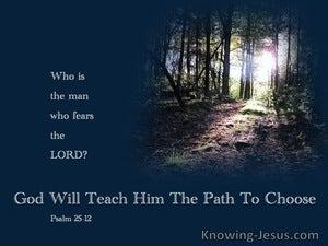 Psalm 25:12