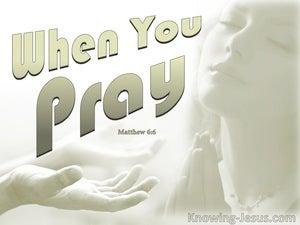 Matthew 6:6