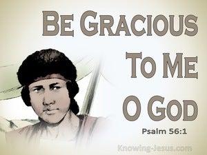 Psalm 56:1