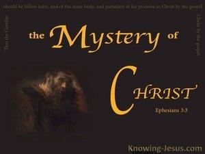 Ephesians 3:3