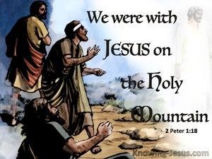 2 Peter 1:18