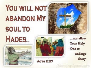 Acts 2:27
