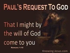 Romans 1:10
