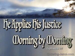 Zephaniah 3:5