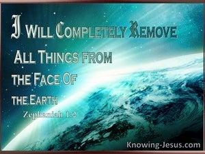 Zephaniah 1:2
