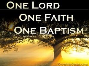 Ephesians 4:5