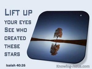 Isaiah 40:26