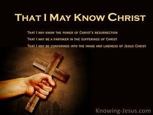 Philippians 3:10