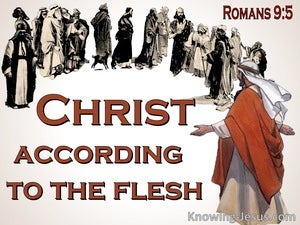 Romans 9:5