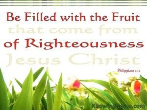Philippians 1:11