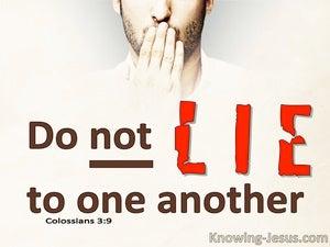 Colossians 3:9