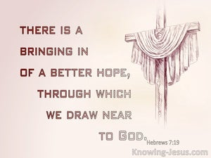 Hebrews 7:19