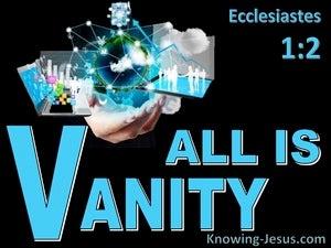 Ecclesiastes 1:2
