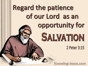 2 Peter 3:15