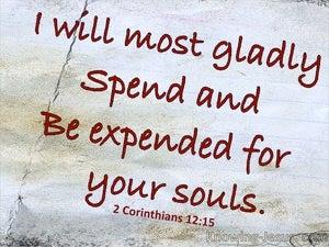 2 Corinthians 12:15