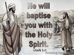 Mark 1:8