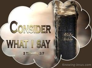 2 Timothy 2:7